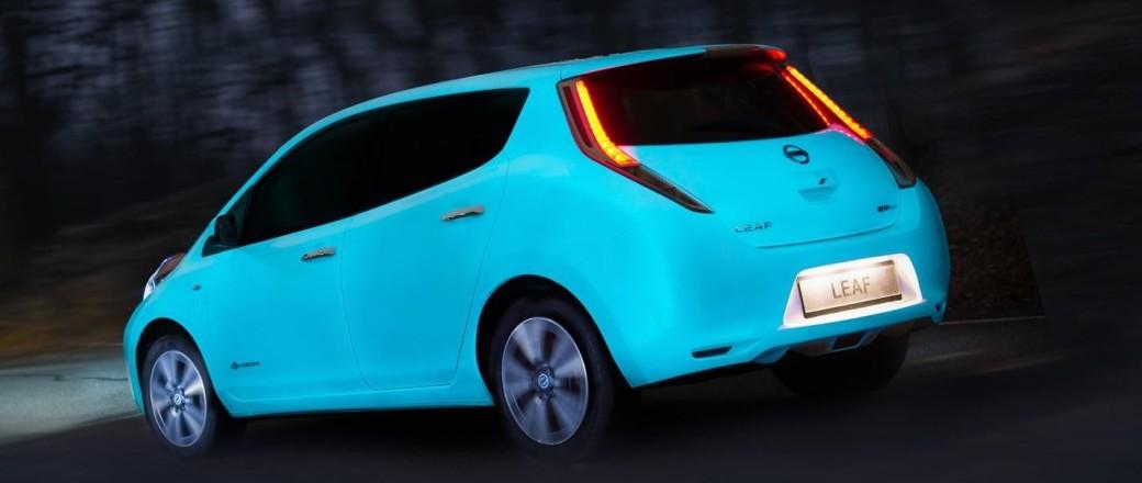 Nissan Leaf : mise en lumière !