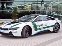 BMW i8 version police de Dubai