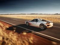 Porsche 918 : Record de vitesse