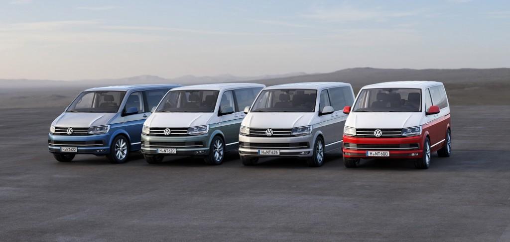 VW T6 4 couleurs