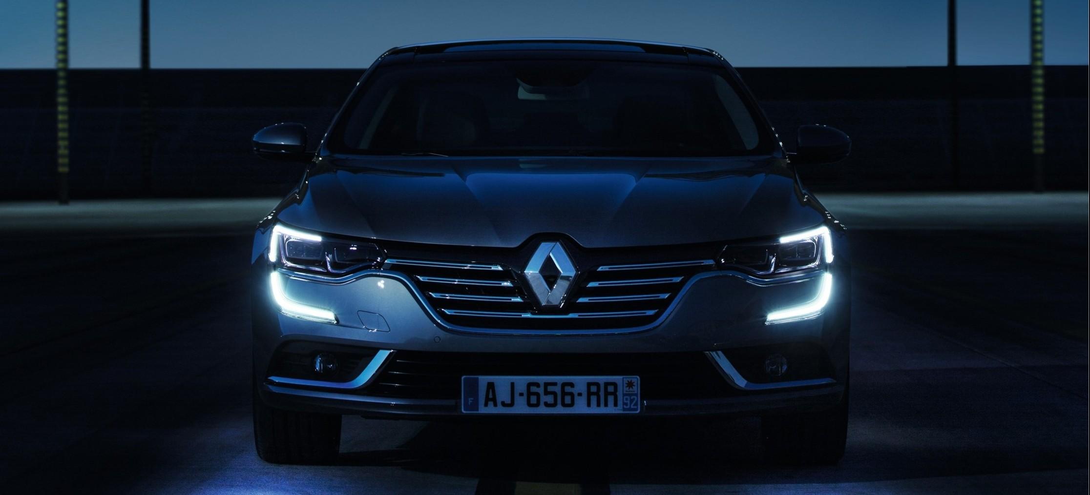 Renault talisman for Exterieur nuit