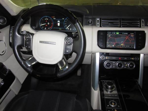 Range Rover intérieur avant