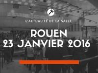 Vente du samedi 23 janvier à Rouen