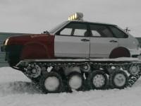 Il transforme sa Lada Samara en tank