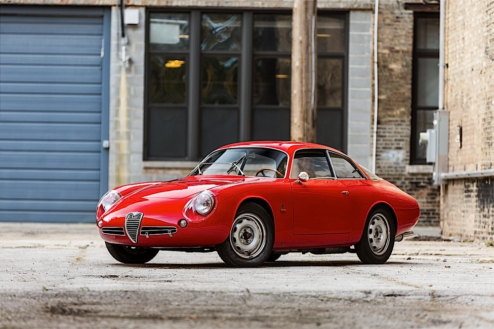 Alfa Romeo Giuliette SZ2 Coda Tronca de 1962 aux enchères, estimation : 800 000€