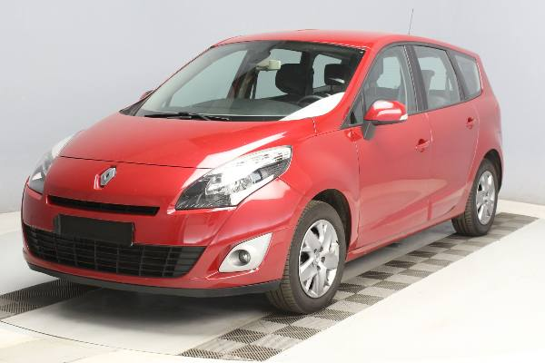 GD SCENIC III 1.5DCi110 Busines7PlNG, 2011 - 123258km, map 5 500€