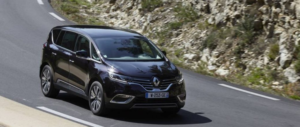 Le nouveau Renault Espace V, proposé aux enchères à Lorient
