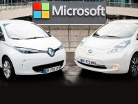 Renault-Nissan et Microsoft s'allient