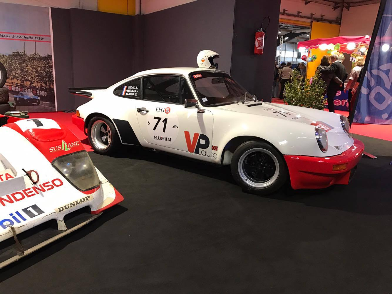 porsche 911 ouest motor's festival vpauto alain gadal