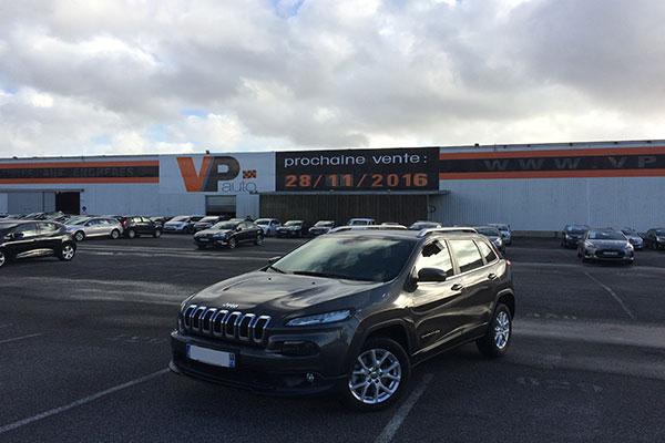 Jeep Cherokee IV nouvelle vente à Lorient vpauto 28 novmebre