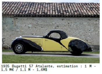 retromobile 2017 Bugatti