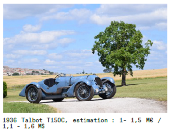 retromobile 2017 Talbot