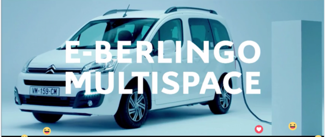 Citroën dévoile le E-Berlingo Multispace