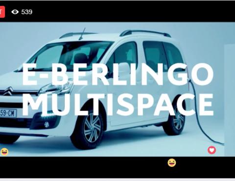 Citroën dévoile le E-Berlingo Multispace