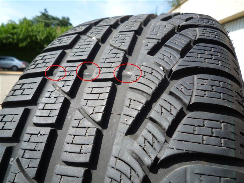témoin d'usre des pneus