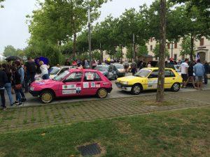 Europ'raid départ LA Roche sur Yon