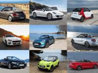 Top 10 des cabriolets vendus en 2016