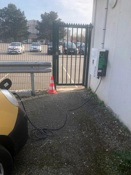 borne électrique Lorient
