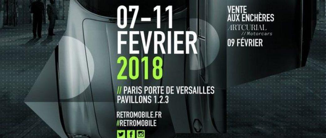 Le salon Rétromobile 2018 se prépare