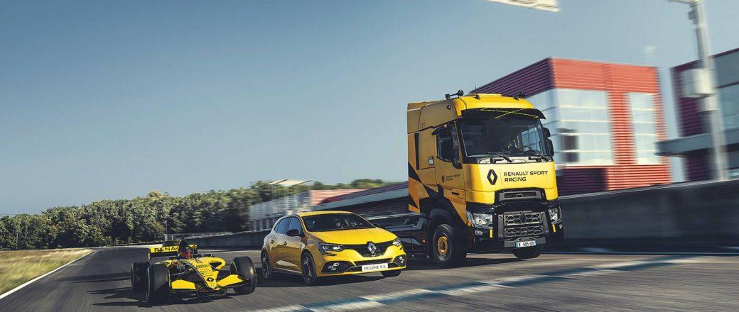 Un camion signé Renault Sport