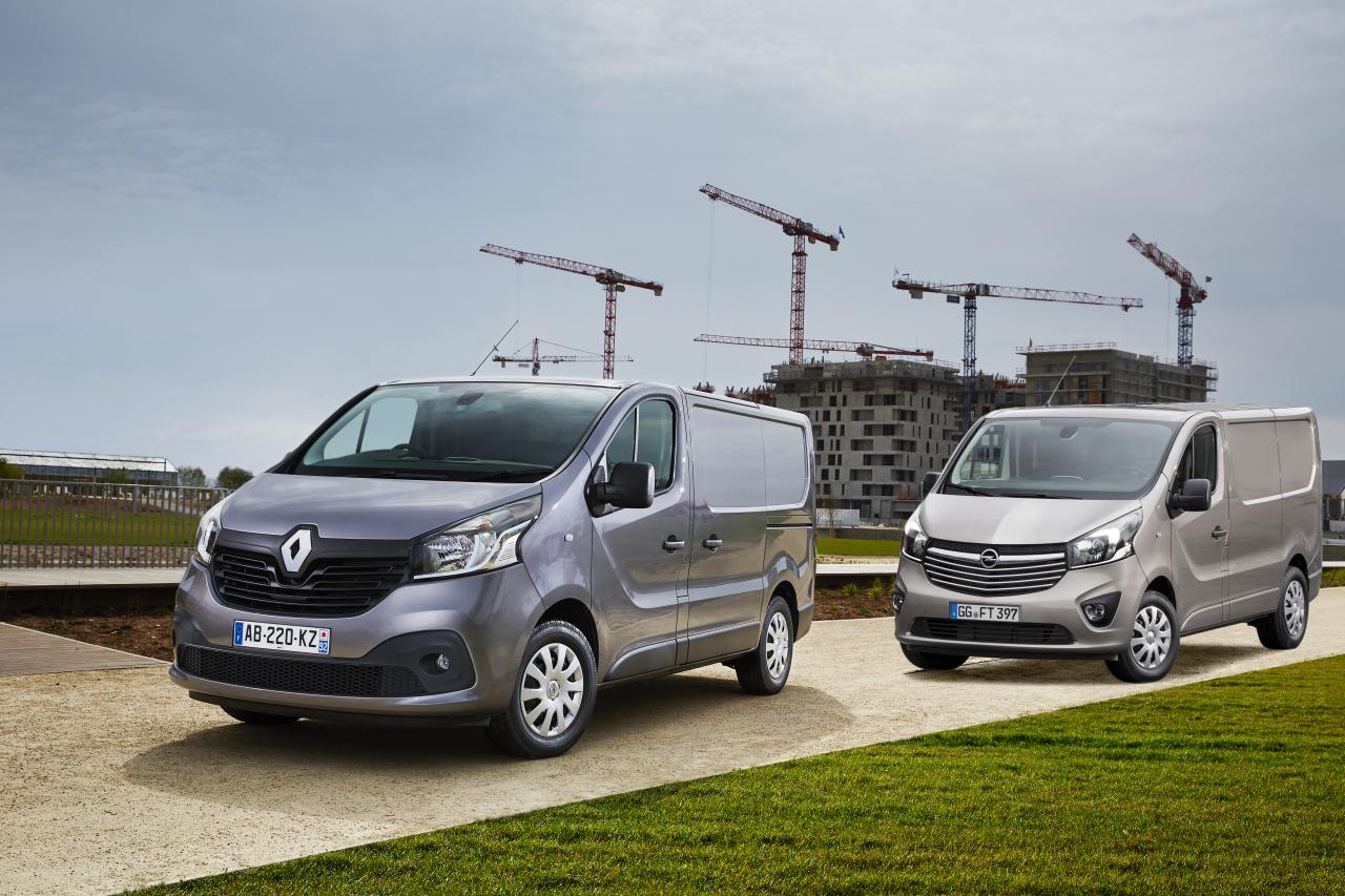 Renault Trafic-Opel Vivaro