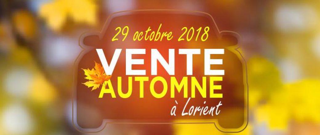 Vente d'automne exceptionnelle à Lorient