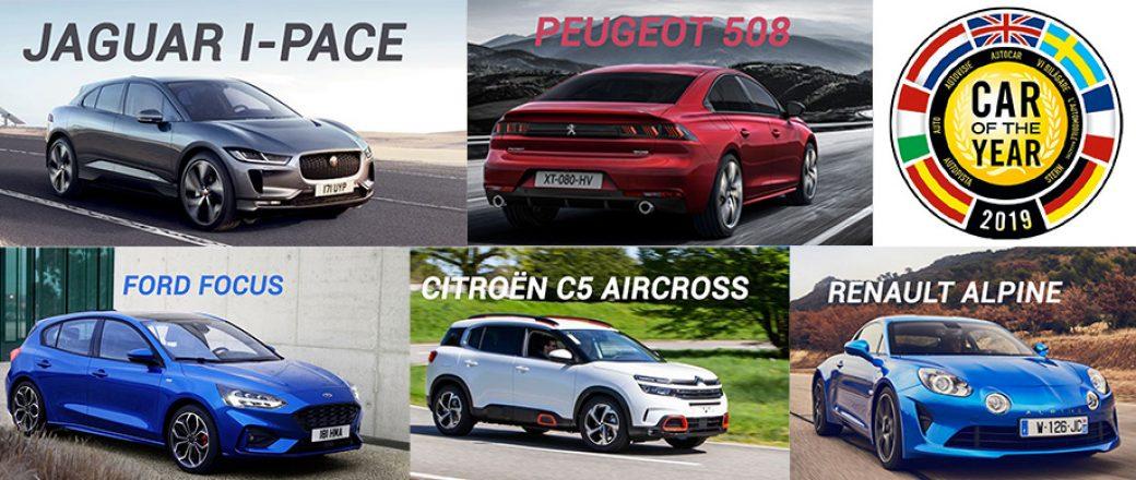 Voiture de l'année 2019 : Trois des septs voitures en finale sont des françaises !