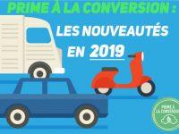 Prime à la conversion 2019 : les nouveautés