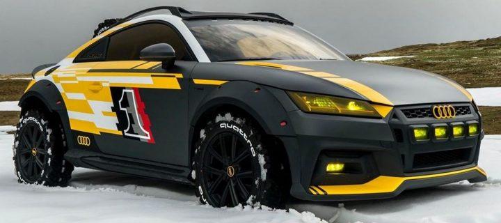 Une Audi TT version Tout-Terrain