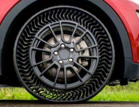 Ces pneus sans air pourraient bien révolutionner l'automobile de demain