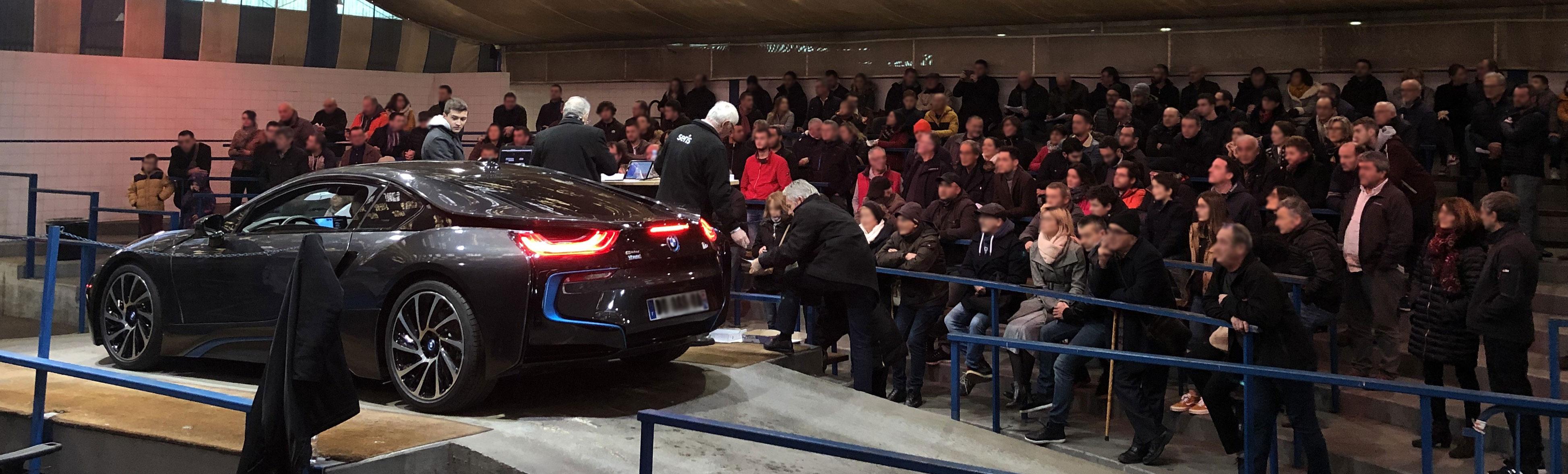 BMW I8 encheres ouverte public
