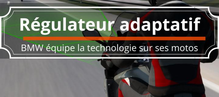 Le régulateur adaptatif de vitesse arrive sur les motos BMW
