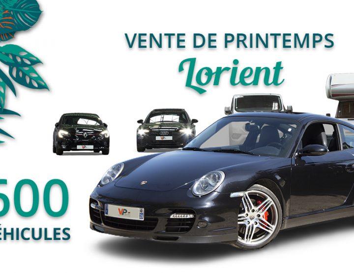Lundi 10 Mai – Grande vente de printemps à Lorient