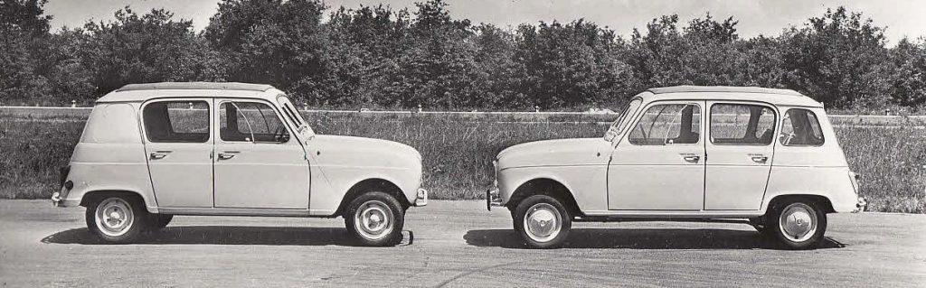 Renault 4 vs Renault 3